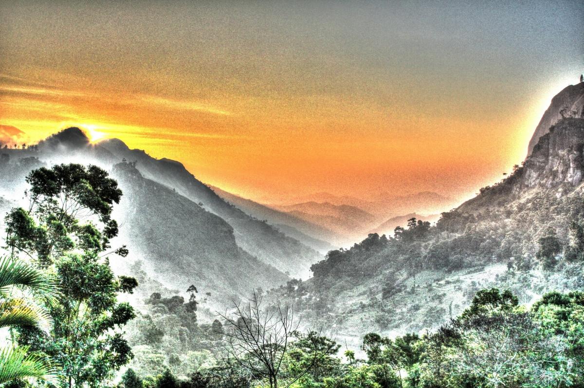 Sunrise at Ellah gap